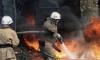 В Тихвинском районе пожарные тушили частный дом в течение часа