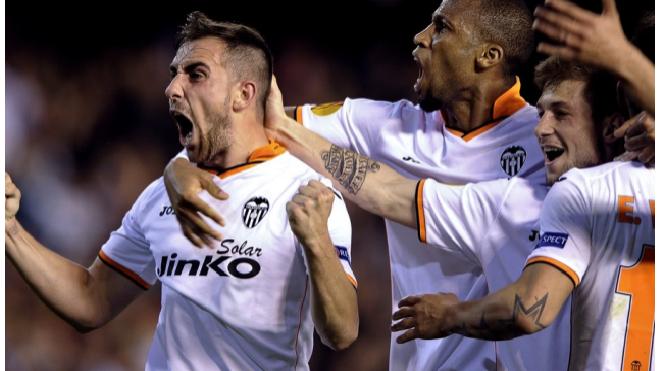 Лига Европы: Валенсия разгромила Базель 5:0 и прошла в полуфинал