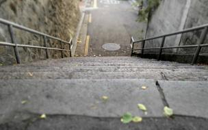 На улицах Выборга появились новые лестницы