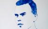 Петербургская художница нарисовала грудью портрет Игоря Акинфеева