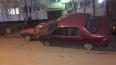 На Дачном проспекте неизвестный припарковал красную ...