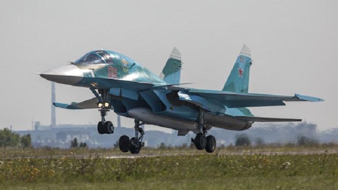 """""""Сухой"""" завершила выполнение контракта на поставку Су-34 Минобороны"""