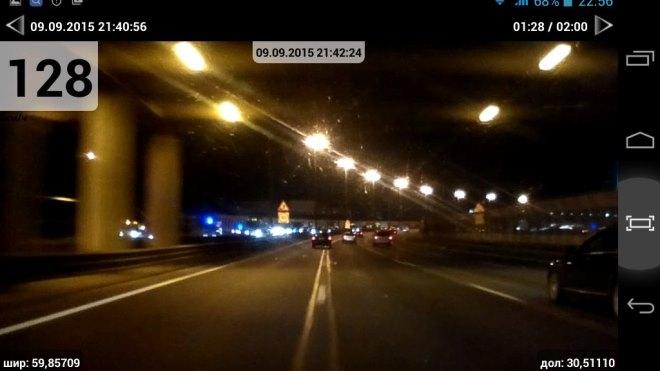 На КАД девушка на Renault Sandero сбила дорожного рабочего, не надевшего специальную жилетку