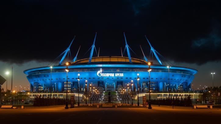 """Стадион """"Газпром Арена"""" стал самым посещаемым в Европе в сезоне 2020/21"""