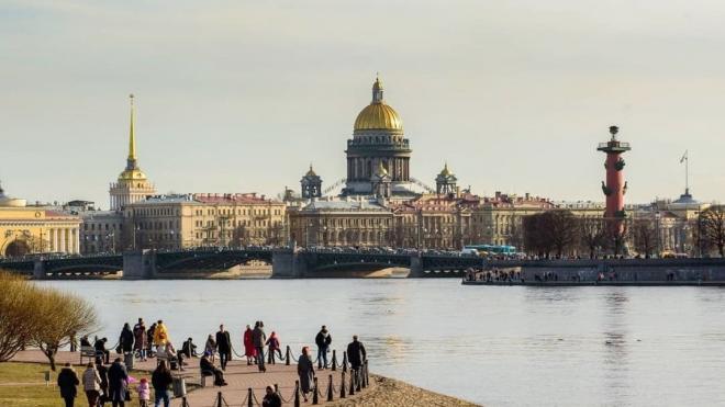 Скандинавский антициклон сохранит теплую и сухую погоду в Петербурге 19 апреля