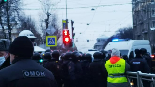 В Петербурге планируют провести митинг в поддержку Навального