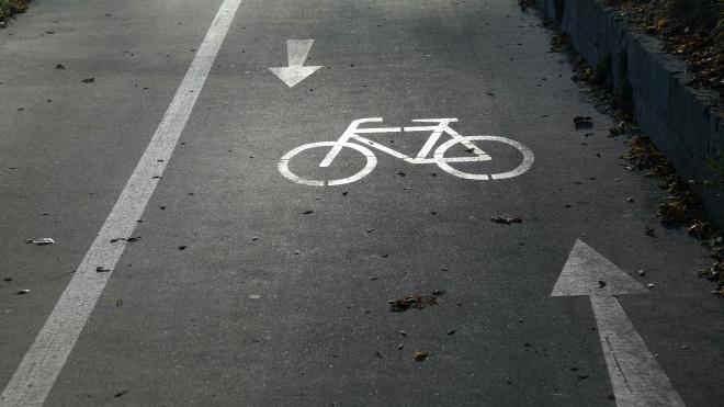 В Петербурге проложат более 20 км новых велодорожек в этом году