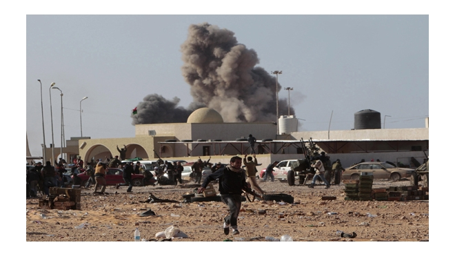 """Варвары-крестоносцы"" снова бомбят Триполи"