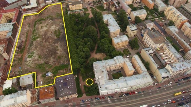 Жители Центрального района хотят расширить сад Сан-Галли