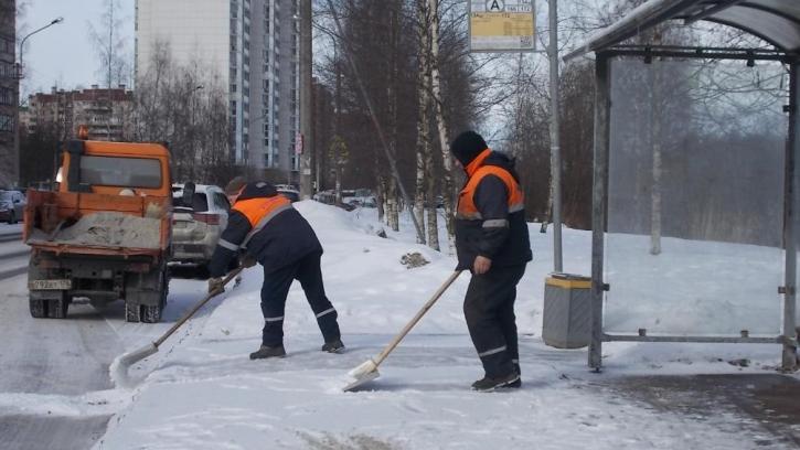В Петербурге за зиму растопили рекордное количество снега