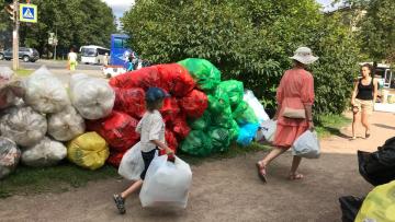 Акция по раздельному сбору мусора в Петербурге пройдет в День знаний