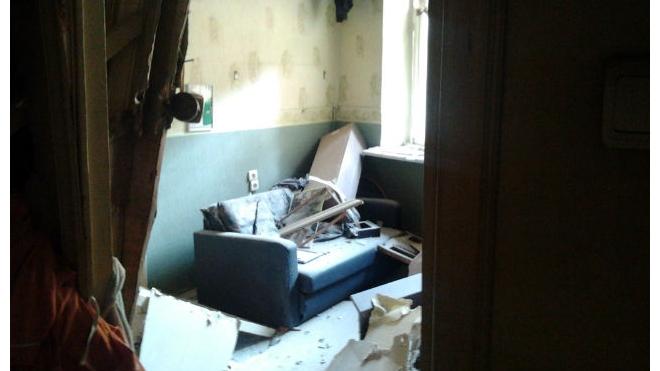 В центре Петербурга из-за взрыва газа в жилом доме эвакуировали 20 человек