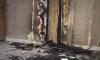 Утром неизвестные подожгли лифт в доме на проспекте Ветеранов