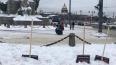 В Петербурге появились новые арт-объекты в виде сугробов ...