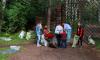 Ковбои с индейцами очистили Батарейную гору в Выборге от мусорных залежей