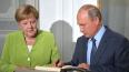 """Путин и Меркель обсудили организацию саммита """"Нормандской ..."""