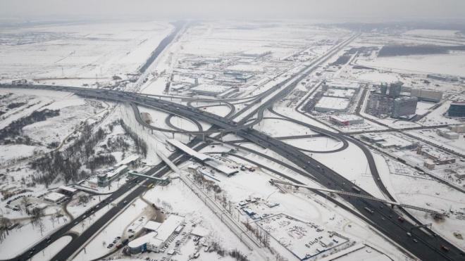 МЧС предупреждает о гололедице на дорогах Ленобласти 22 декабря