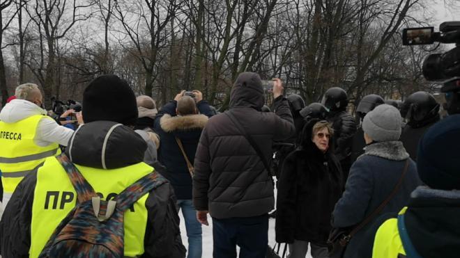 СЖР по Петербургу попросил МВД проверить задержания журналистов 23 января