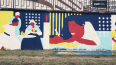 В Петербурге нарисовали 70-метровое граффити по мотивам ...