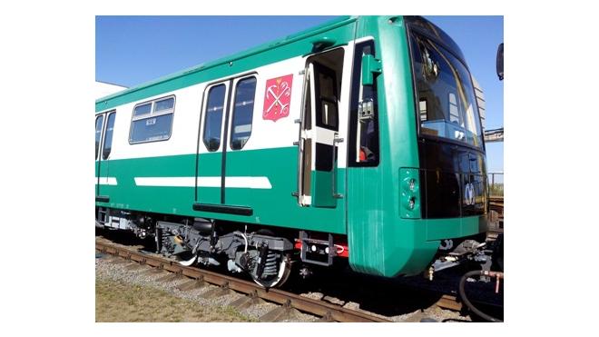 В метрополитене Петербурга появился новый состав вагонов