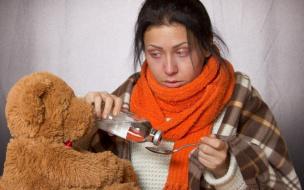 За неделю почти 70 жителей Ленобласти госпитализировали с ОРВИ