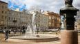 В пятницу в Ново-Манежном сквере включат фонтан