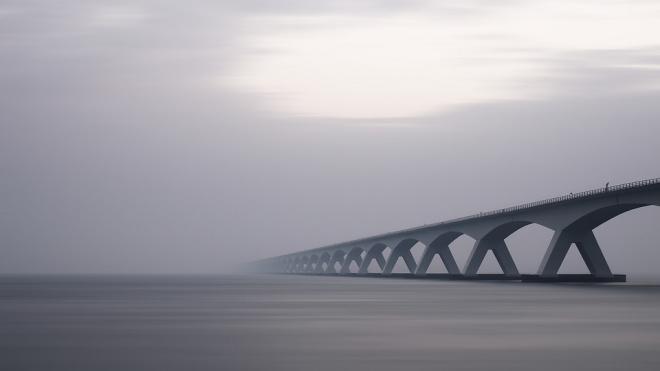 Через реку Вуокса возвели уникальный мост