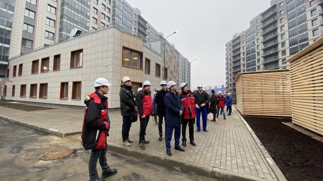 Госстройнадзор проверил готовность нового детского сада в Московском районе