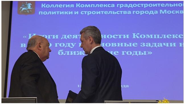 Мэр Москвы уволил своего первого заместителя Владимира Ресина