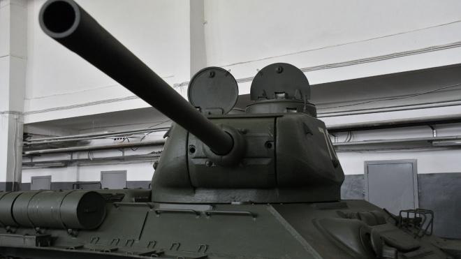 В Петербурге к параду Победы подготовили 30 танков Т-34