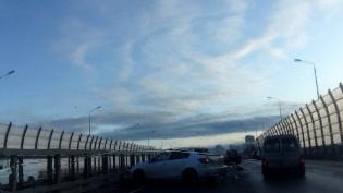 Четыре автомобиля столкнулись на Суздальском шоссе