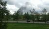 Пожар в Лигово напугал местных жителей