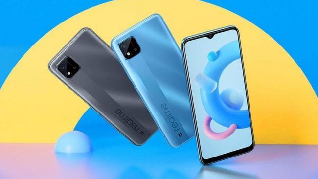 Realme представила новый смартфон Realme C20