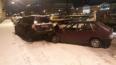 В Адмиралтейском районе авто врезалось в припаркованные ...
