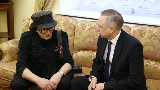 Беглов и Михаил Шемякин обсудили работу петербургского Союза художников