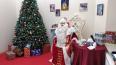 Видео: в Выборг приехал самый главный Дед Мороз страны