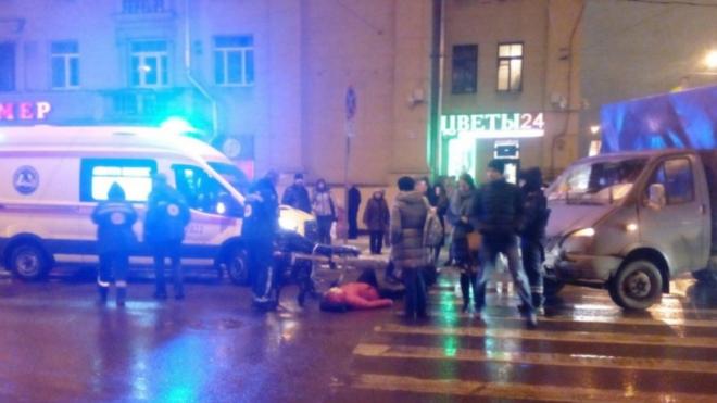 На Советском проспекте иномарка сбила петербурженку