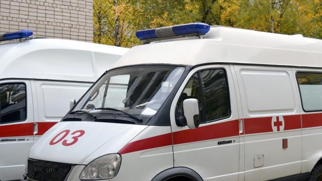 В Гатчинском районе скорая госпитализировала мужчину с порезанным горлом