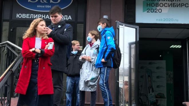 В штабе Навального в Новосибирске распространили сероводород