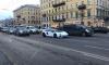 Посреди Невского проспекта заметили пустой Lamborghini Aventador
