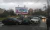Тройное комбо из иномарок собралось на Новоизмайловском проспекте