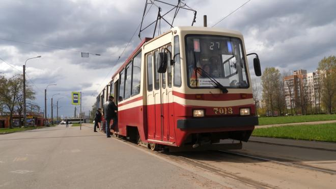 В Невском районе Петербурга отменили временное закрытие трамвайного движения по улице Бабушкина