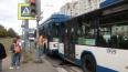 На проспекте Ветеранов столкнулись троллейбусы: есть ...