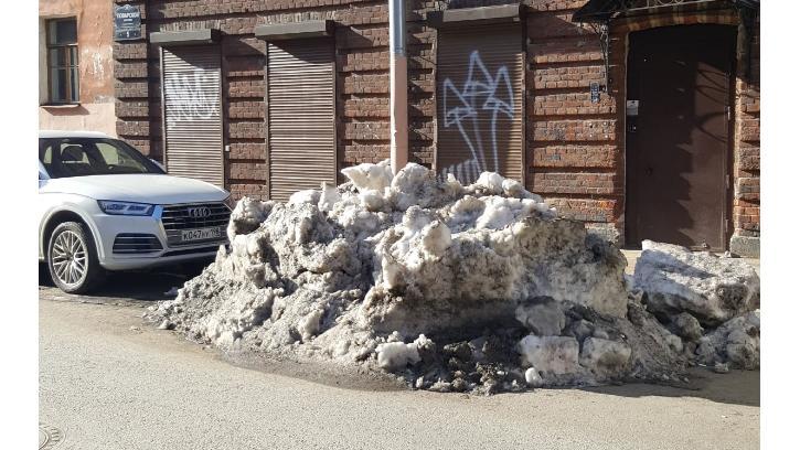 Петербуржцы в социальных сетях поспорили с отчетами Смольного об уборке снега