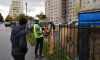 За один день в Петербурге снесли снесли семь нелегальных парковок