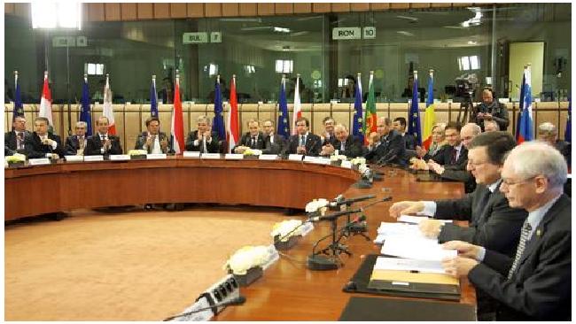 25 из 27 стран Евросоюза подписали пакт о бюджетной стабильности