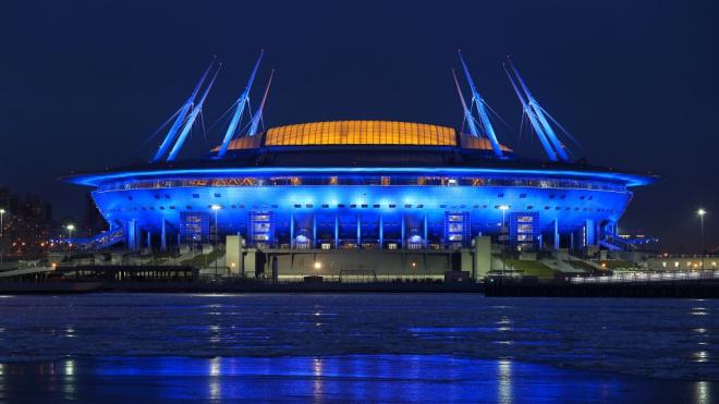 """Стадион """"Зенита"""" получит новое название в честь """"Газпрома"""""""