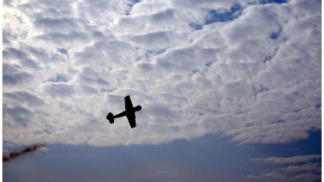 Пассажир самолета упал в океан с высоты 600 метров