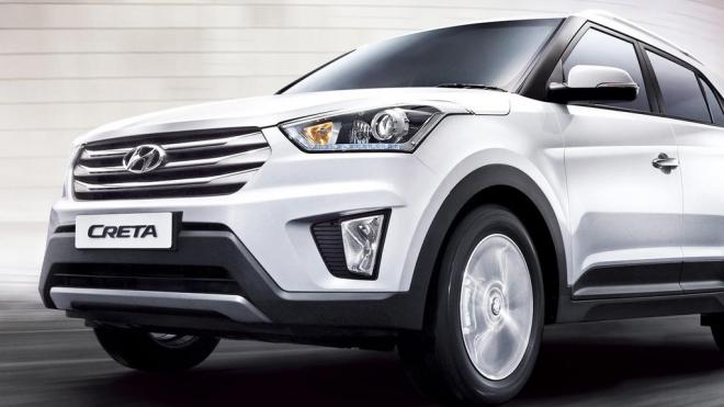 Hyundai предлагает кроссовер Creta в кредит без первоначального взноса