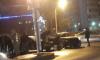 На перекрестке Кубинской и Краснопутиловской разбились два авто